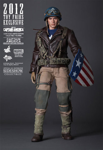 The First Avenger Captain America - Rescue Version Exclusive