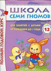 Полный годовой курс. Для занятий с детьми от рождения до 1 года (комплект из 12 книг)