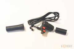 Ручка газа (под кисть) - Половинка с переключателем