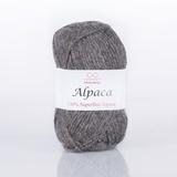 Пряжа Infinity Alpaca 0043 темно-серый