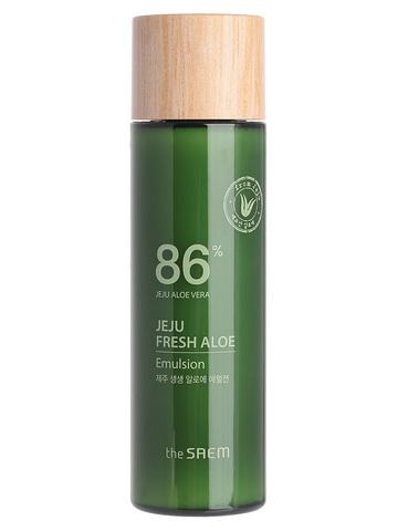 СМ Aloe Эмульсия для лица увлажняющая с алоэ Jeju Fresh Aloe Emulsion_I 155мл