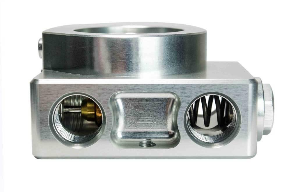 Масляный сэндвич-адаптер с 4 портами+ термостат