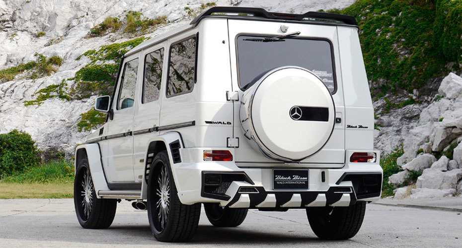 Обвес WALD Black Bison для Mercedes W463 G-class Копия