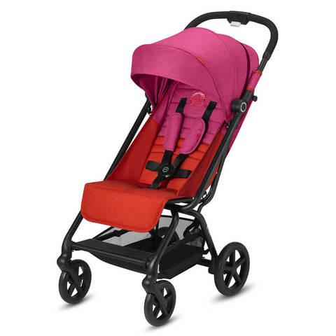 Прогулочная коляска Cybex Eezy S Plus Fancy Pink