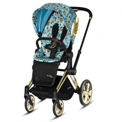 Прогулочная коляска Cybex Priam III by Jeremy Scott Сherubs Blue