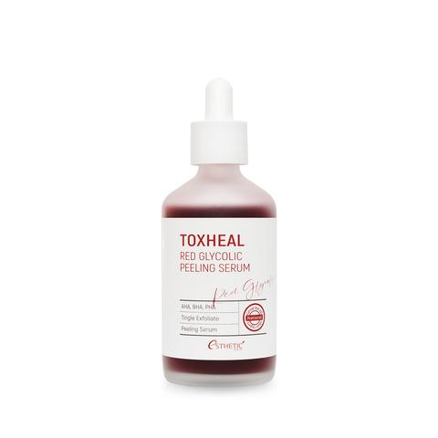 Кислотный пилинг для домашнего применения Esthetic House Toxheal Red Glycolic Peeling Serum