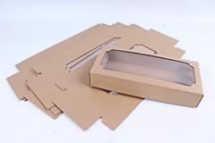 Коробка-трансформер (МГК) Крафт 25х11 h=4,5 см.