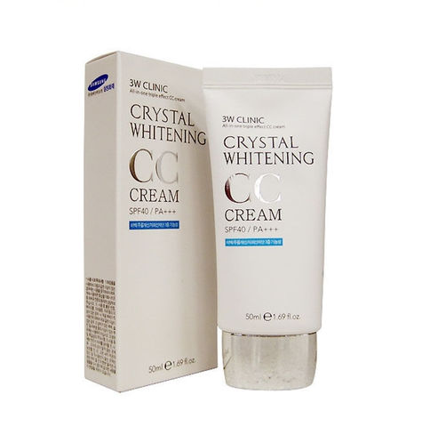 СС-крем Crystal Whitening CC Cream SPF50+/PA+++ #1  50 ml