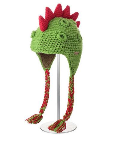 Картинка шапка с ушами Knitwits Damon the Dinosaur  - 1