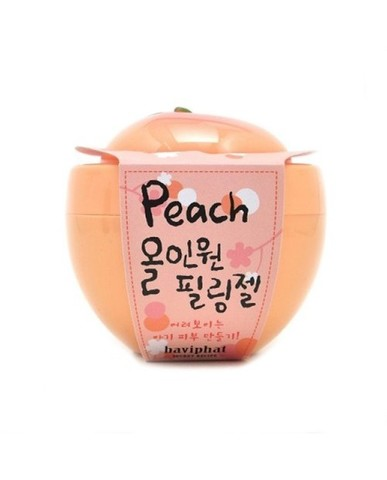 Baviphat Peach All-in-one peeling Gel пилинг-скатка с экстрактом персика