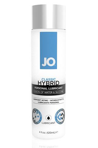 Лубрикант-ГИБРИД водно-силиконовый  JO LUBRICANT (HYBRID), 4 oz (120мл.)