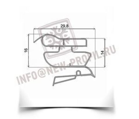 Уплотнитель для холодильника Candy СTSA 5143W х.к 1010*520 мм (022)