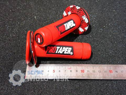 Грипсы Protaper Honda Yamaha Kawasaki Suzuki красные