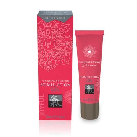 Возбуждающий интимный гель для двоих STIMULATION GEL Pomegranate & Nutmeg - 30 мл.