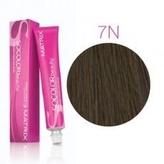 Matrix SOCOLOR.beauty: Neutral 7N блондин натуральный, краска стойкая для волос (перманентная), 90мл