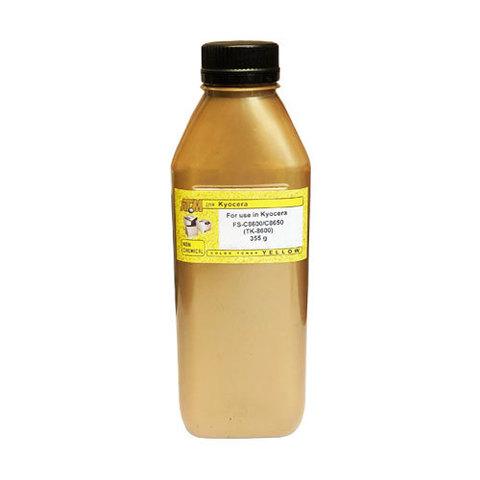 Тонер IMEX WS-86 желтый для Kyocera FS-C8600/C8650 - TK-8600. 355 гр.