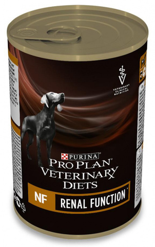 Purina Pro Plan Veterinary Diets NF Renal Function консервы для собак при патологии почек, 400 г