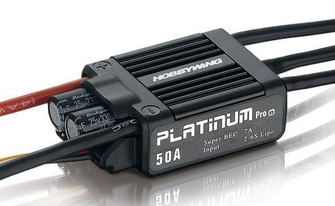 ESC регулятор Hobbywing platinum series 50a v3