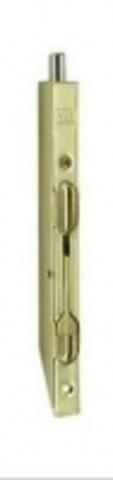 Торцевой шпингалет 401-140 GOLD
