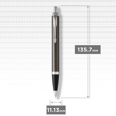 Шариковая ручка Parker IM Metal Core Dark Espresso CT123