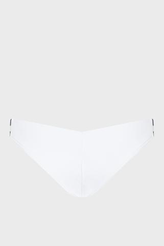 Женские белые трусики от купальника Calvin Klein