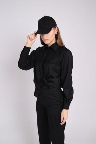 Рубашка черный