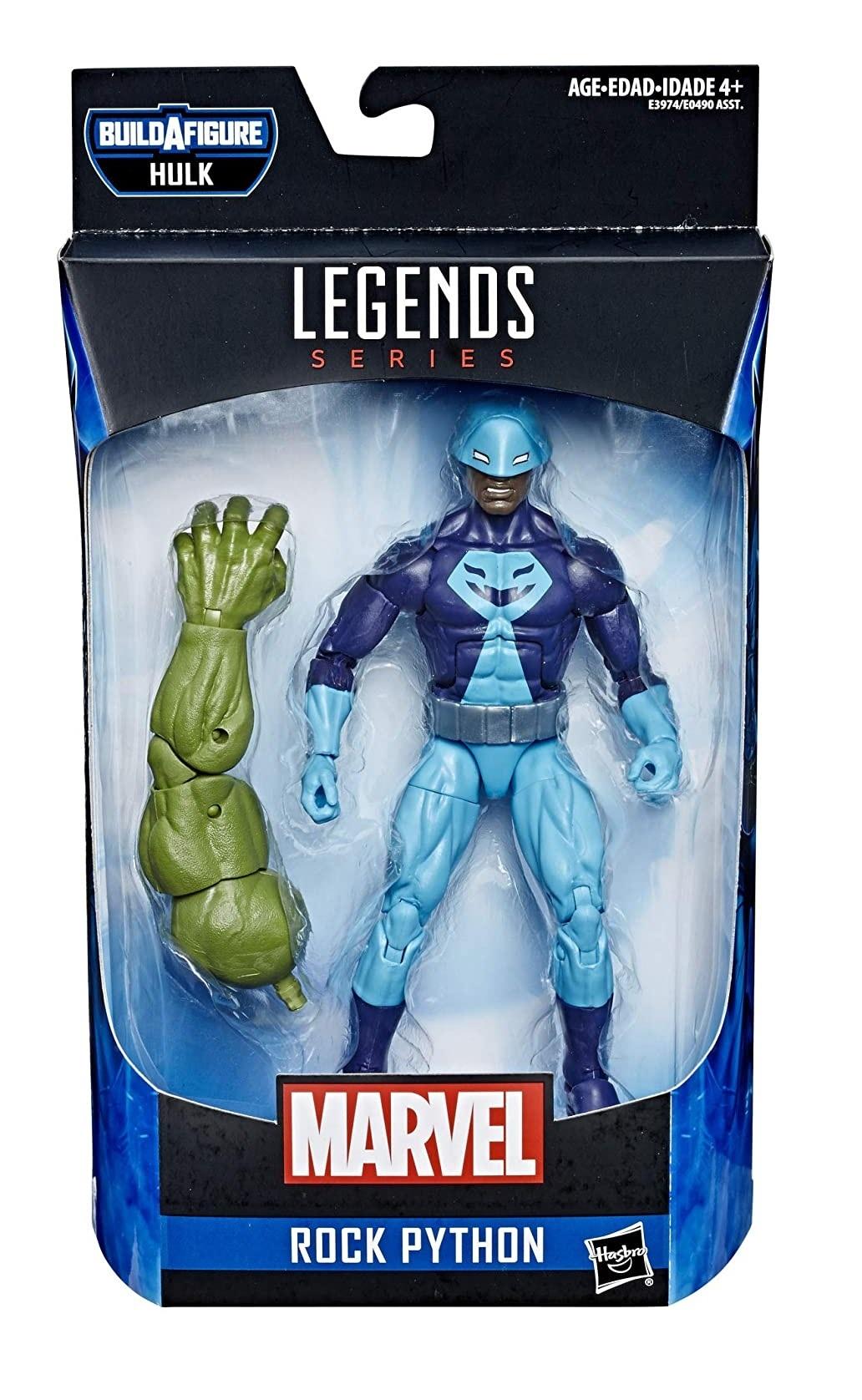 Фигурка Скальный питон (Rock Python) Marvel Legends 15 см