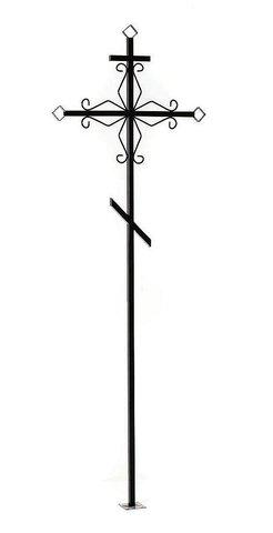 Крест металлический малый