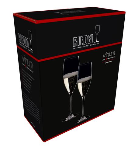 Набор из 2-х бокалов для шампанского Cuvee Prestige 230 мл, артикул 6416/48. Серия Vinum