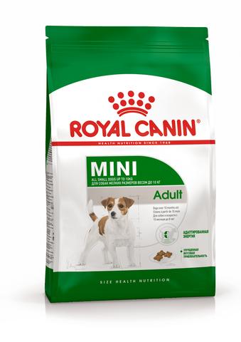 Royal Canin Mini Adult сухой корм для собак мелких пород 800 г