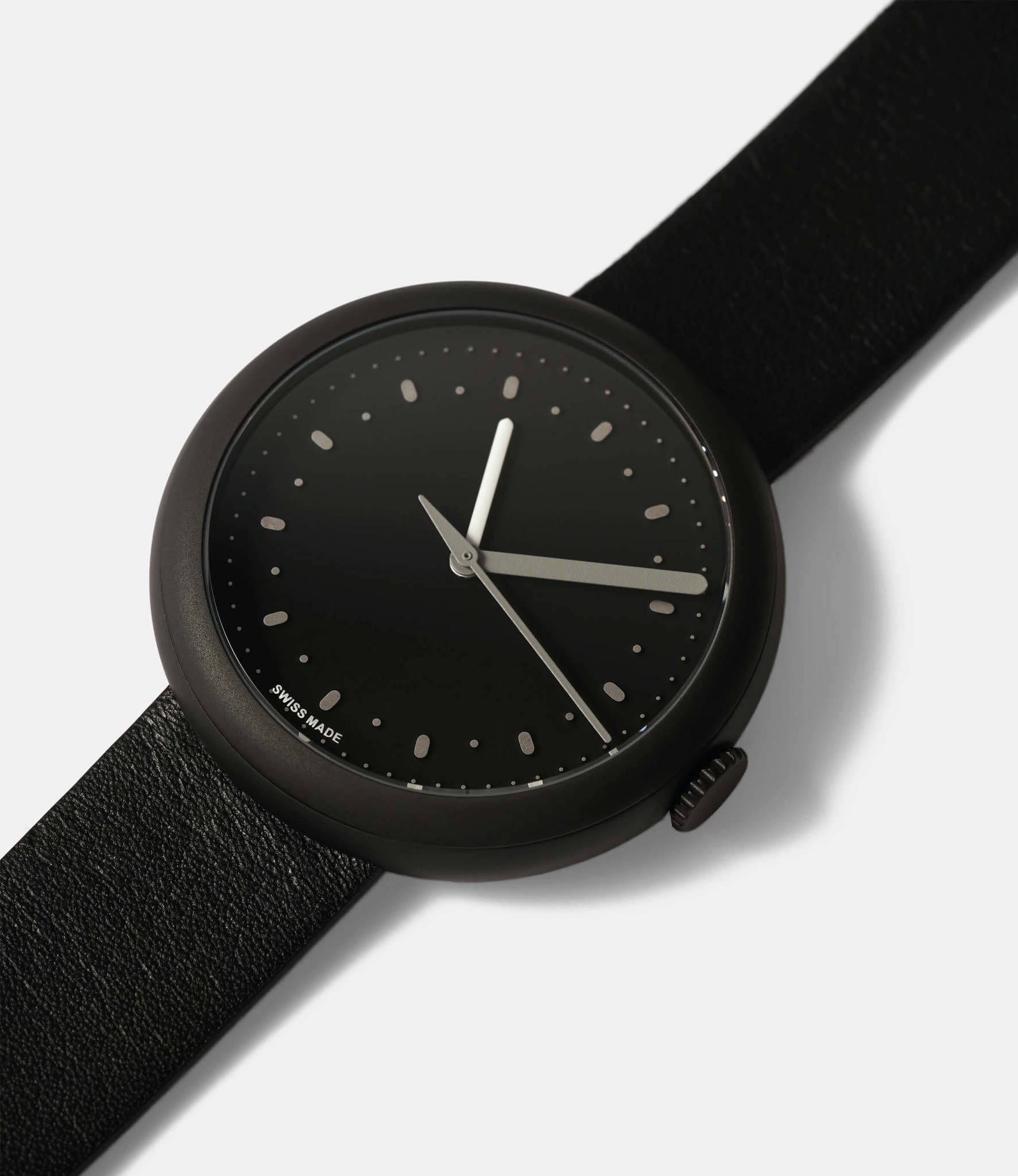 Objest Simple Black — кварцевые часы