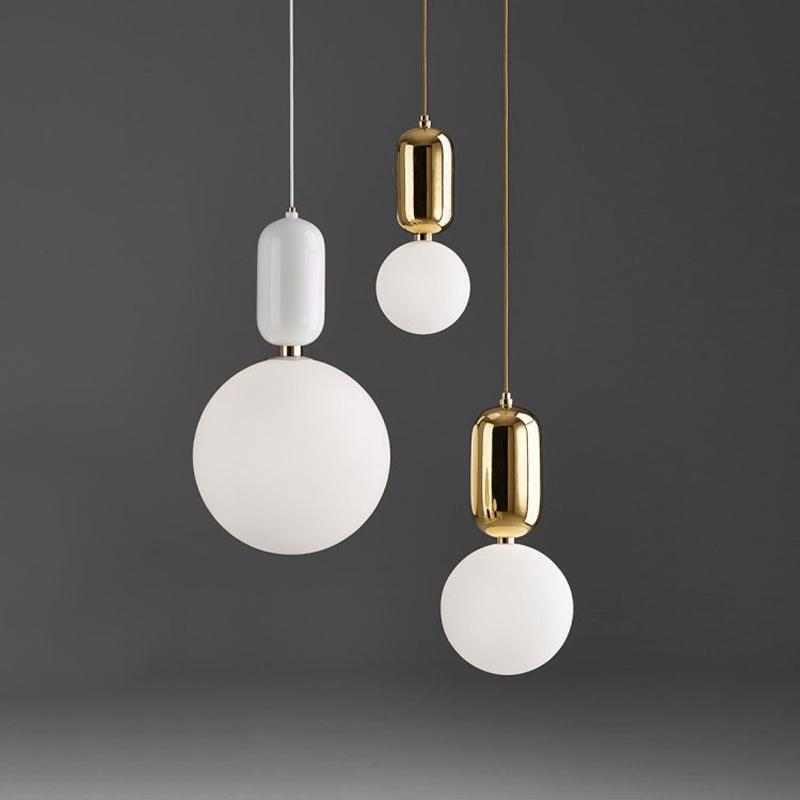 Подвесной светильник Aballs  by Parachilna (белый, D15)
