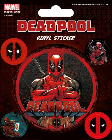 Набор стикеров Deadpool