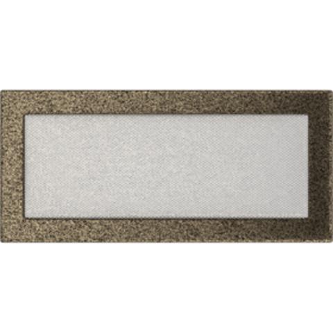 Вентиляционная решетка Черная/Золото (17*37) 37CZ