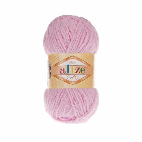 Пряжа Alize SOFTY 185 детский розовый