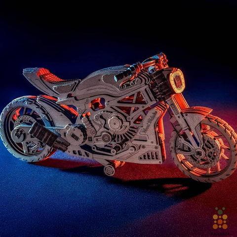 Мотоцикл DMS (Wood Trick)