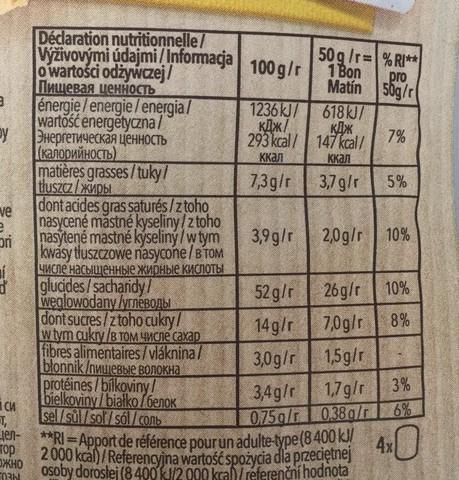 Булочки (Bon Matin) сладкие 4штх50г б/глютен б/лактоз Schar
