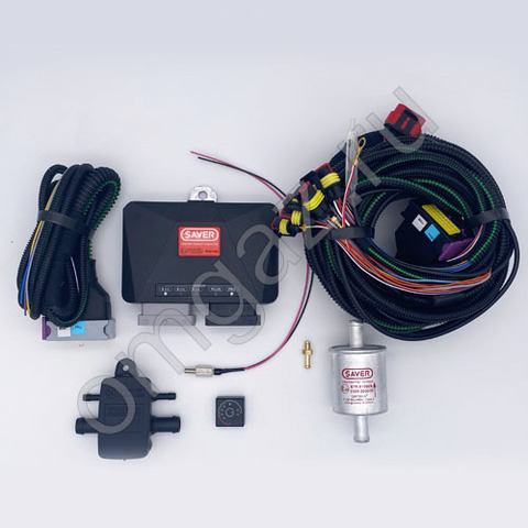 Электр. часть SAVER OBD с проводкой и сенс 4 цил