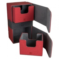 Blackfire Convertible Premium Deck Box Dual 200+ Standard Size Cards - Red