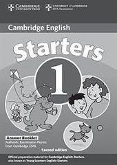 C Young LET 2Ed 1 Starters 1  Answer Booklet