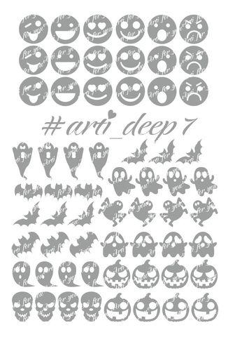 Трафарет Arti Deep № 07