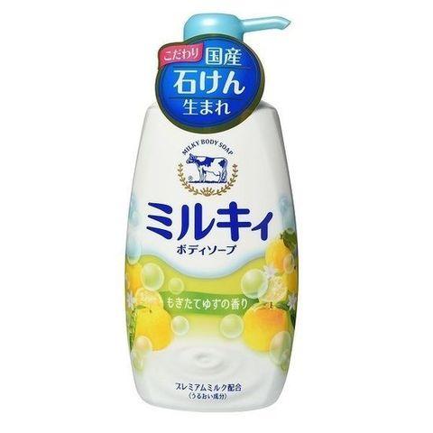 Жидкое мыло для тела с ароматом цитрусовых 550 мл