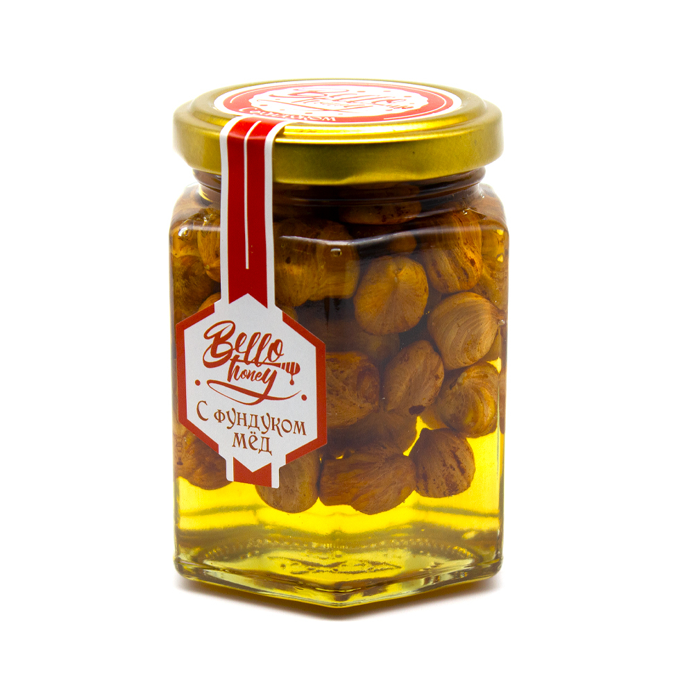 Орехи в меду, 200мл