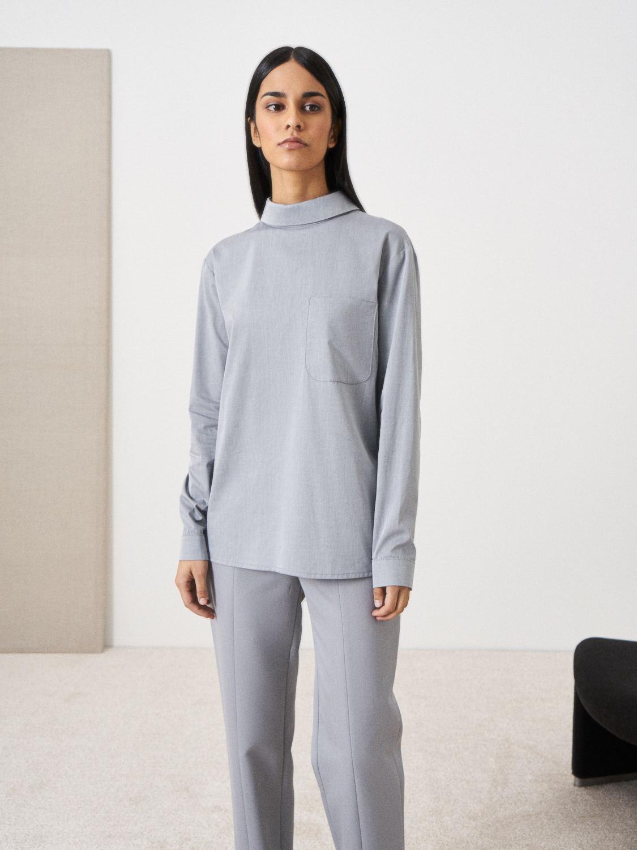 Рубашка Muza с застежкой сзади