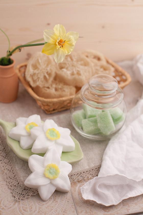 Мыло-цветы. Форма Нарцисс