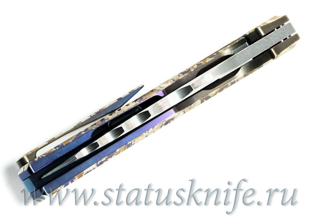 Нож Muscle CUSTOM CKF Tactic Camo - фотография