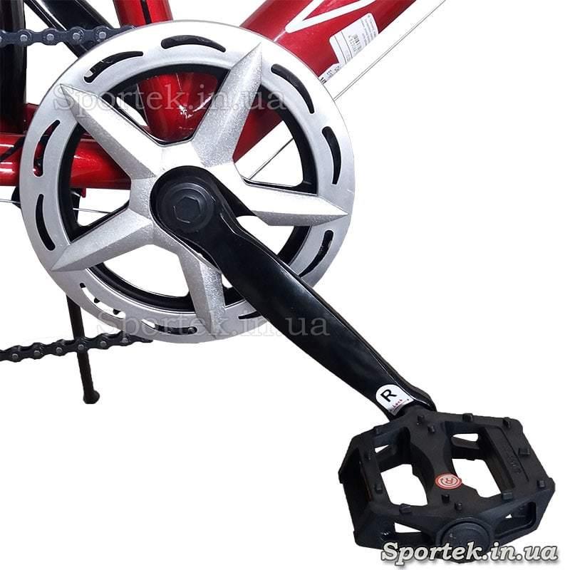 Рокринг и шатун с педалью