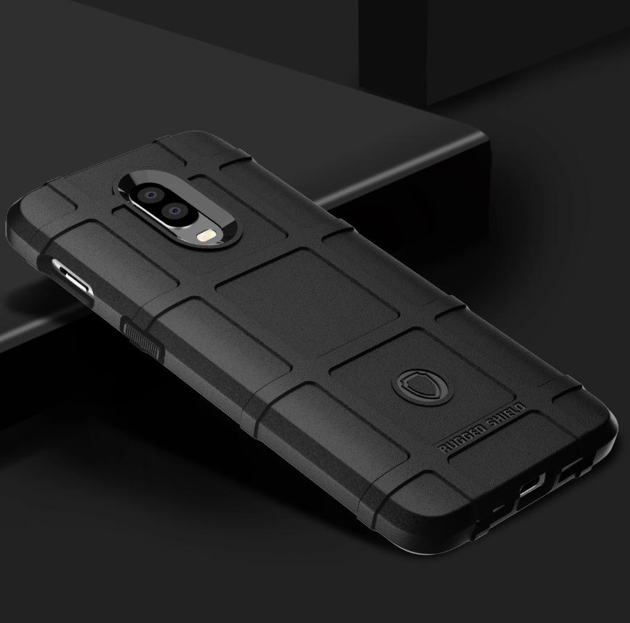 Чехол для OnePlus 6T цвет Black (черный), серия Armor от Caseport