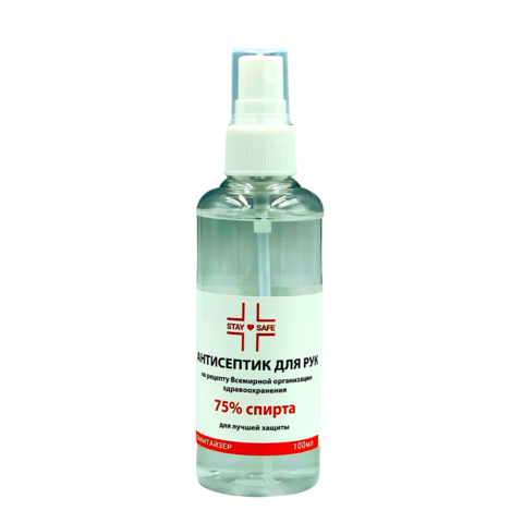 Антисептик для рук Stay-Safe 100 ml распылитель