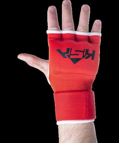 Внутренние перчатки для бокса Cobra Red, L